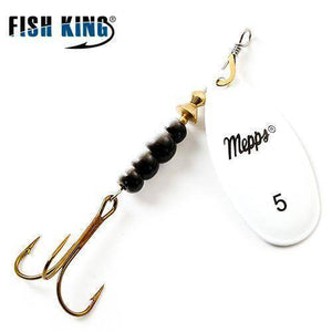Fish-Trapp Lures White 5 Mepps Artificial Fishing Lure