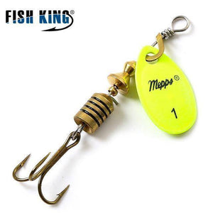 Fish-Trapp Lures Yellow 1 Mepps Artificial Fishing Lure