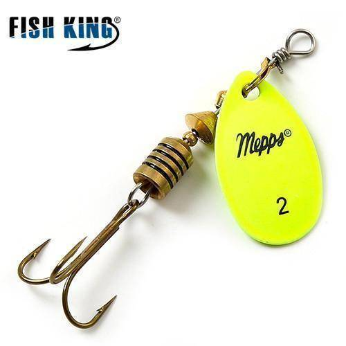 Fish-Trapp Lures Yellow 2 Mepps Artificial Fishing Lure