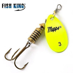 Fish-Trapp Lures Yellow 3 Mepps Artificial Fishing Lure