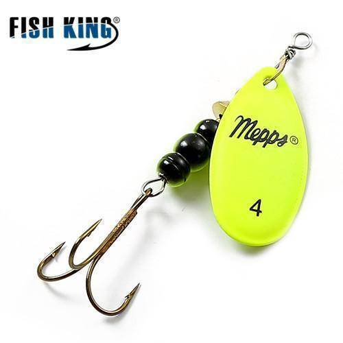 Fish-Trapp Lures Yellow 4 Mepps Artificial Fishing Lure