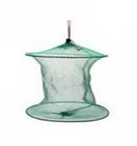 Image of Fish-Trapp Trap Nets 2layers Round Metal Frame Bait Trap Net