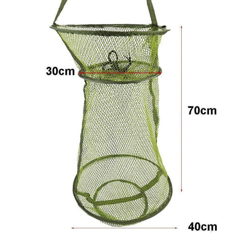 Image of Fish-Trapp Trap Nets 3 pcs Fish Net Storage Trap