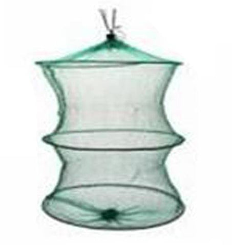 Image of Fish-Trapp Trap Nets 3layers Round Metal Frame Bait Trap Net