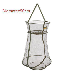 Fish-Trapp Trap Nets 50cm 3 Layer Fishing Net (Fish Holding Net)