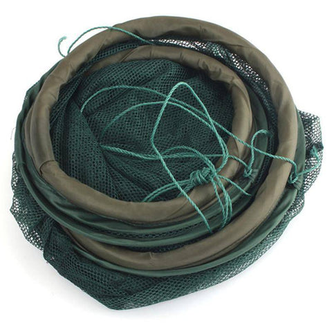 Image of Fish-Trapp Trap Nets Fishing Trap Baits Cast Net with 7 Entrances