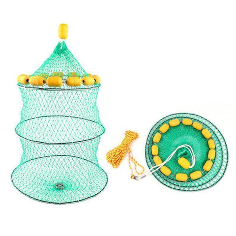 Fish-Trapp Trap Nets Floating Fishing Keep Net
