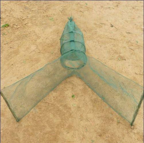 Image of Fish-Trapp Trap Nets Foldable Automatic Fishing Bait Trap Net