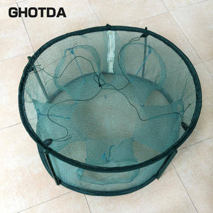 Portable 5/6/7 Holes Automatic Fishing Trap
