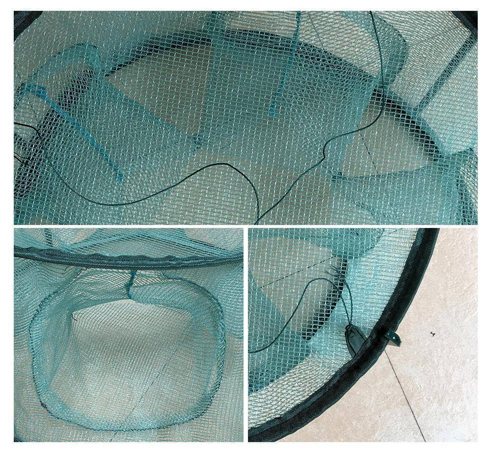 Fish-Trapp Trap Nets Portable 5/6/7 Holes Automatic Fishing Trap