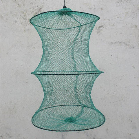 Fish-Trapp Trap Nets Round Metal Frame Bait Trap Net