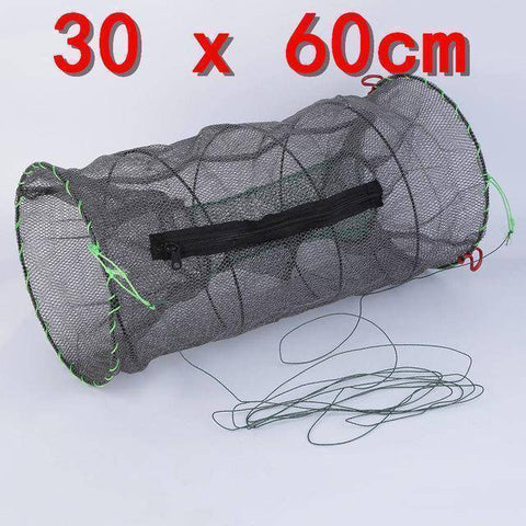 Image of Fish-Trapp Trap Nets Top Quality Crab Crayfish Lobster Catcher Pot Trap