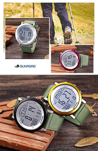 Image of Fish-Trapp Watches Digital Fishing Wristwatch