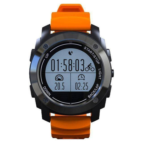Image of Fish-Trapp Watches Orange GPS Outdoor Sports Watch