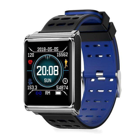 Image of Makibes Official Store Black blue Makibes CK02 Smart Watch