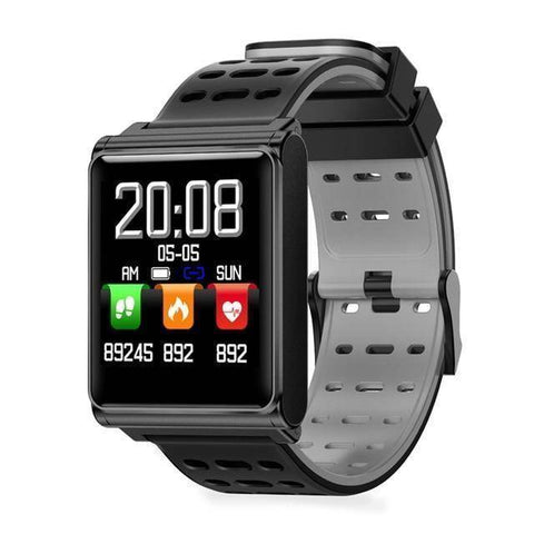 Image of Makibes Official Store Black grey Makibes CK02 Smart Watch