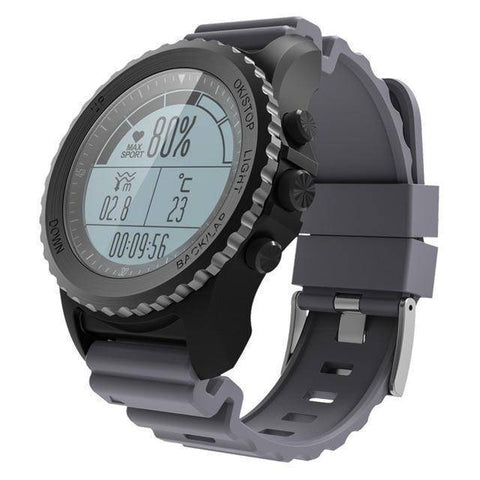 Image of Makibes Official Store Smart Watches Gray Makibes G07 GPS Watch