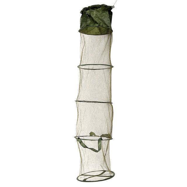 outlife Official Store Trap Nets Small 5 Layers Folding Fish Trap Cast Net