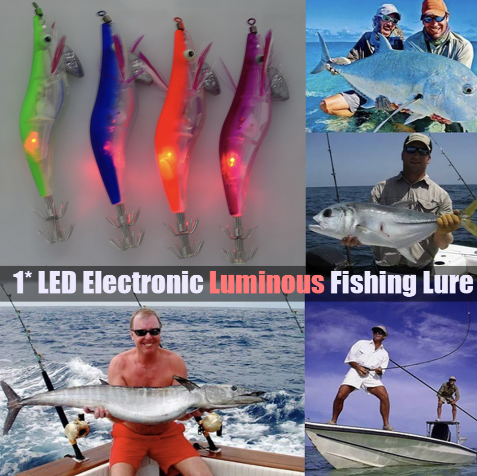 Flashing LED Fishing Lure