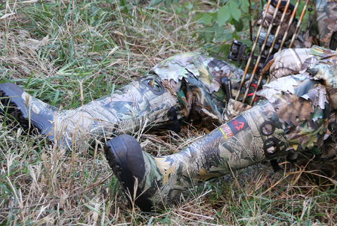 Image of Hunting Fishing Camouflage Non-Slip Rubber Boots