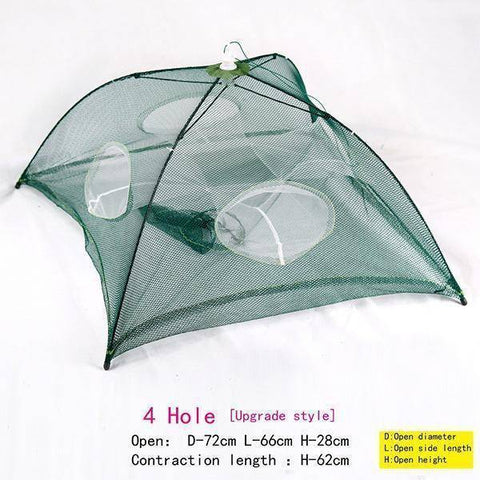 Image of Portable Folding Fishing Trap Net
