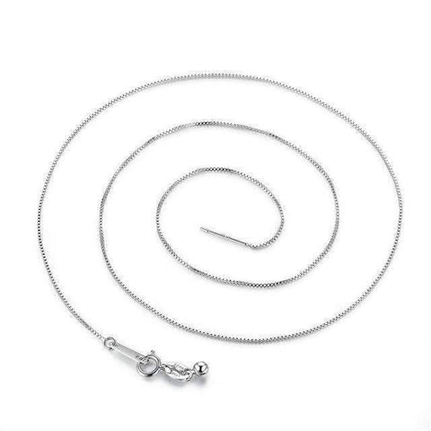 Image of Classic Basic Chain 100% 925 Sterling Silver