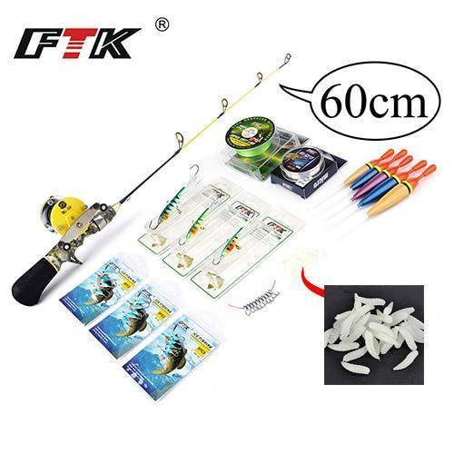 Winter Ice Fishing Rod with Ice Fishing Reel