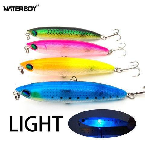 Image of WATERBOY Official Store Fishing Lures Flashing LED Light Pencil Fishing Lure