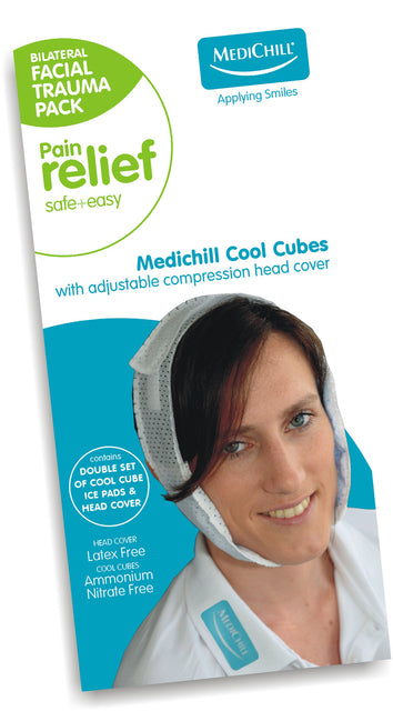 Cool Cubes Natural Pain Relief | Ice Packs | Heat Packs - Medichill