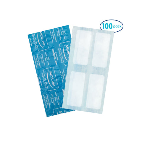Medichill Cool Cubes Reusable Cold Compress - Small (Pack of 100)