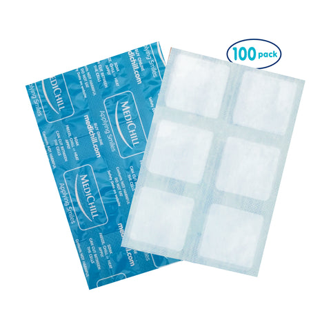 Cool Cubes for Children, Reusable Cold Compress (Pack of 100)