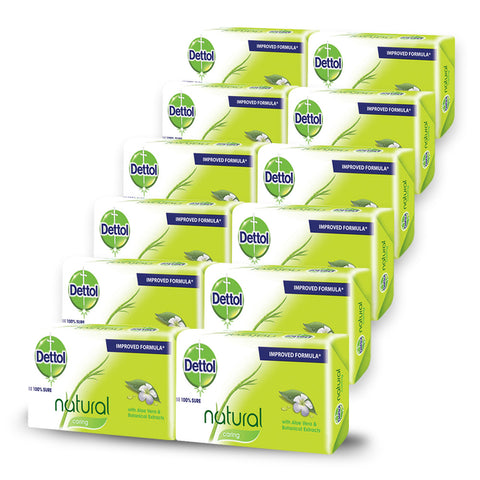 Dettol Soap Caring (12 Pack) - Cantomart.co.za