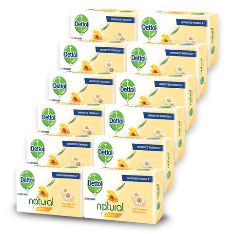 Dettol Soap Soothing (12 Pack) - Cantomart.co.za