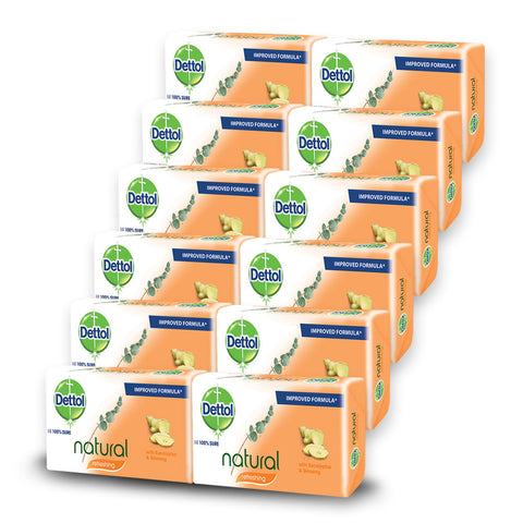 Dettol Soap Refreshing (12 Pack) - Cantomart.co.za