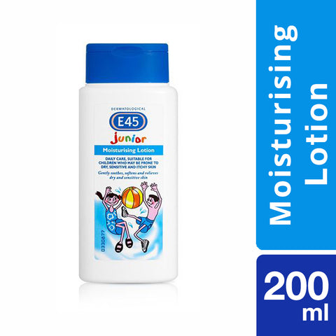E45 Junior Range Moisturising Lotion - 200ml - Cantomart.co.za
