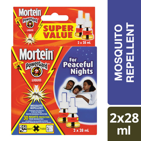 Mortein 30 Night Liquid Refill Twin Pack - 2x28ml - Cantomart.co.za
