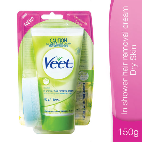 VEET in Shower Cream for Dry Skin - 150ml - Cantomart.co.za