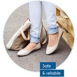 Scholl Gel Active Insoles Flat Shoes - Cantomart.co.za
