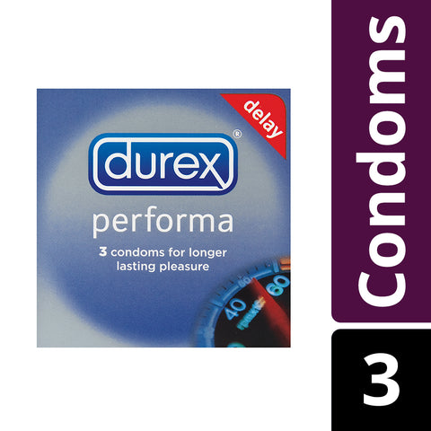 Durex Performa Condoms - 3's - Cantomart.co.za