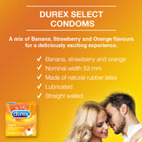 Durex Select Flavour - 3's - Cantomart.co.za