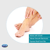 Scholl Velvet Smooth Roller Head Soft Touch And Extra Coarse With Diamond Crystals - Cantomart.co.za
