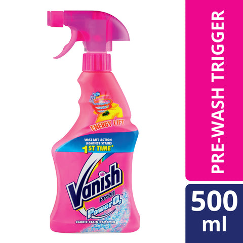 Vanish Power O2 Pre-Wash Trigger - 500ml - Cantomart.co.za