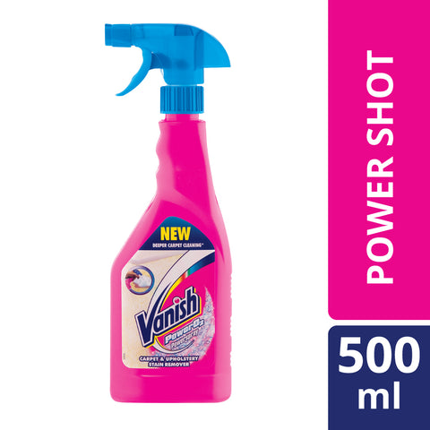 Vanish Power O2 Carpet & Mutli Fabric Stain Remover - 500ml - Cantomart.co.za