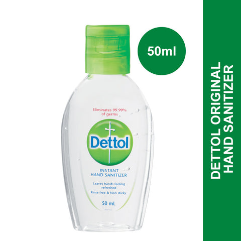 Dettol Hand Sanitiser-50ml - Cantomart.co.za