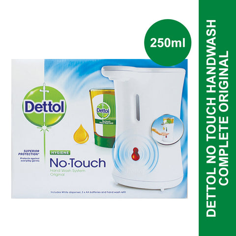 Dettol No Touch Handwash Complete Original-250ml - Cantomart.co.za