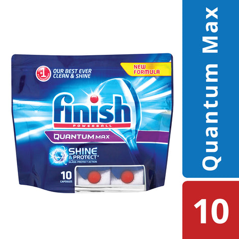 Finish Quantum Dishwashing Tablets - 10's - Cantomart.co.za