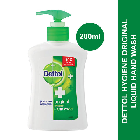 Dettol Hygiene Liquid Hand Wash Pump Original -200ml - Cantomart.co.za