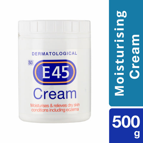E45 Moisturising Cream - 500gm - Cantomart.co.za