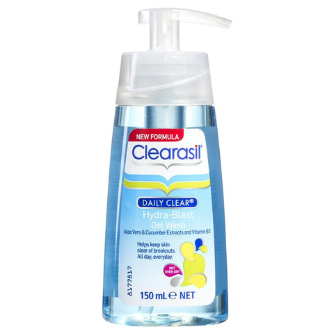 Clearasil Stayclear Daily Gel Face Wash - 150ml - Cantomart.co.za
