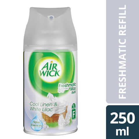 Airwick Freshmatic refill Cool Linen & White Lilac - 250ML - Cantomart.co.za